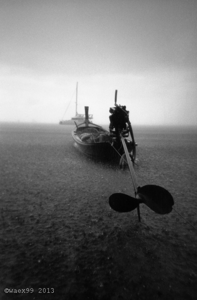 Long Boat ashore