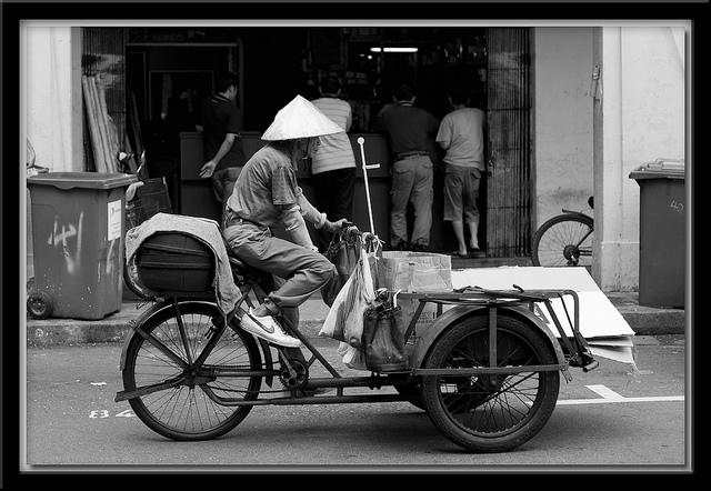 The trishaw
