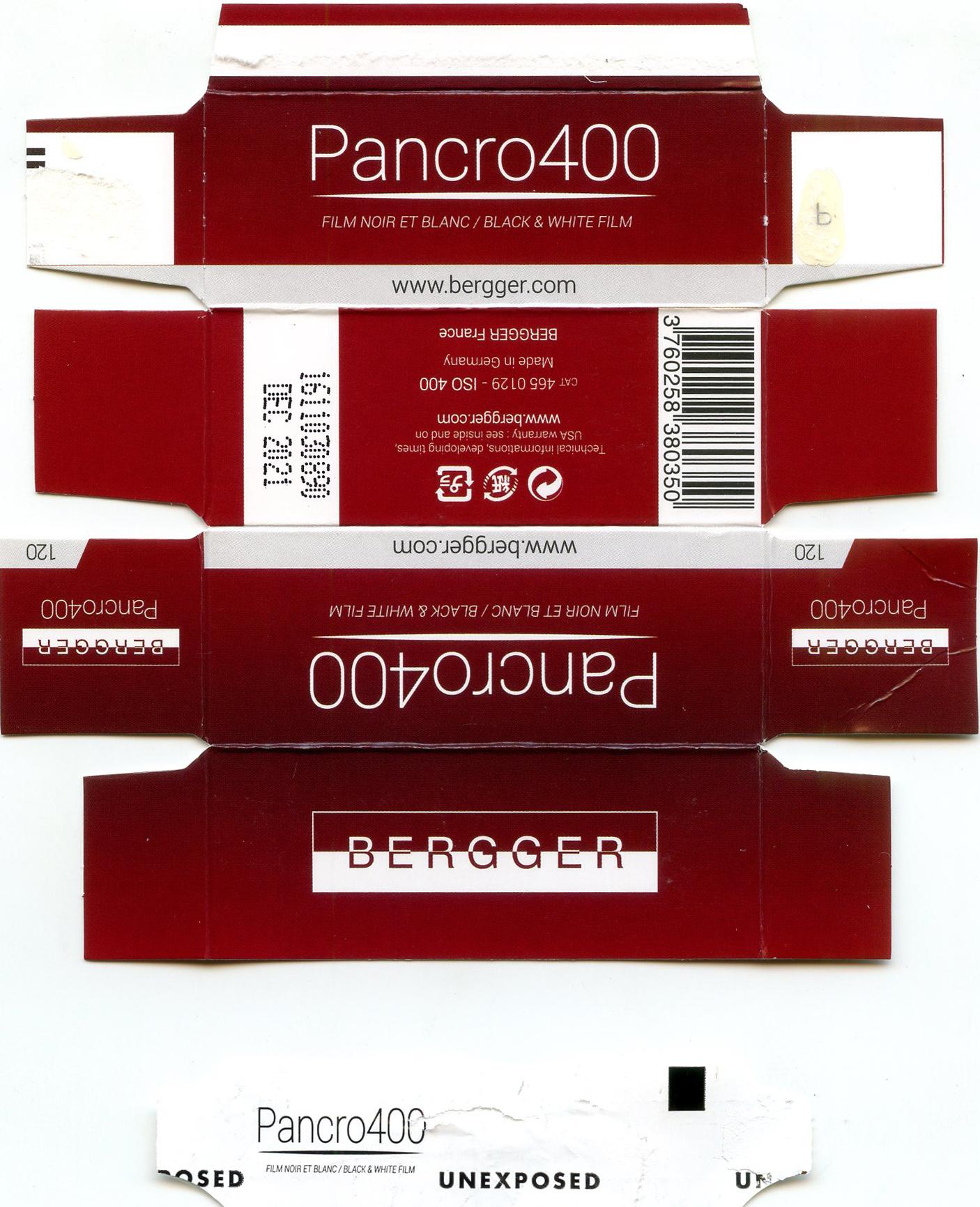 Bergger Panchro400-120
