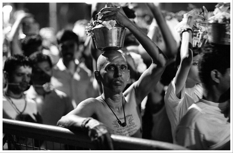 Thaipusam 2010 Kodak Trix pushed 1600